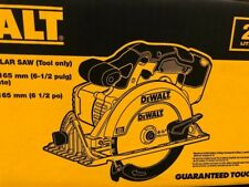Dewalt Cordless Circular Saw 20-V 6-1/2 in. MAX Lithium-Ion (Tool-Only) DCS391B