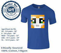Kids Stampylongnose T-Shirt - Mr Stampy stampylonghead YouTube Gift. 2 Colours
