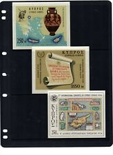 Stamps Cyprus Selection of miniature sheets mint unhinged