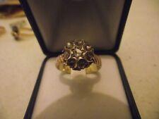 Anello in oro con toppa di diamanti - SI ACCETTANO PROPOSTE