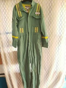 Summit Work Apparel Flame-Resistant Coveralls FR Target Zero  Size XLarge