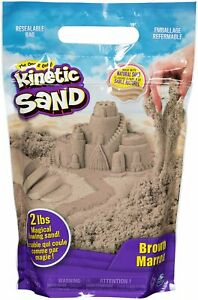 🚛Fast Shipping! 2lb Kinetic Sand Beach Sand Sensory Kids Non Toxic Natural