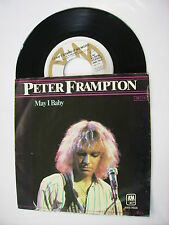 """PETER FRAMPTON - I CAN'T STAND IT NO MORE - 7"""" VINYL EXCELLENT CONDITION 1979"""