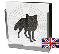 100 Air Rifle Shooting Paper FOX Targets 14cm Pistol Airsoft Gun (100gsm 100% UK