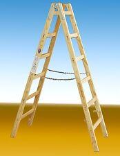 Malerleiter 2 x 5 Sprossen, Länge 1,50 m , Eimerhaken