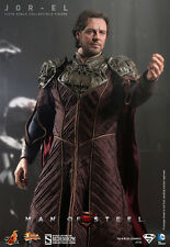 "Hot Toys Man of Steel JOR-EL 12"" Action Figure 1/6 Scale Russell Crowe Superman"