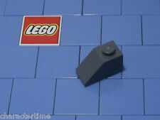 Lego 3040 1x2 Dark Bluish Gray 45 Slope x 10 NEW