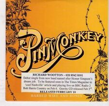 (EJ843) Pin Monkey, Barbed Wire & Roses - 2003 DJ CD
