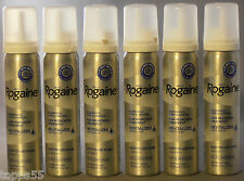 (6) ROGAINE 5% Minoxidil Topical Foam Sealed MENS 6 Month Supply 6-2.11 oz Can