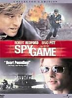 Spy Game, Collector's Edition DVD Robert Redford /  Brad Pitt - New in Package