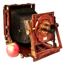 Very Nice Early Sanderson Half Plate Camera – Good Condition