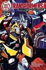 TRANSFORMERS ROBOTS IN DISGUISE ANIMATED #4 Subscription IDW NM Comic - Vault 35