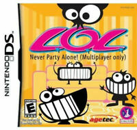 Nintendo Ds Game Lol Never Party Alone Rare! DS Game