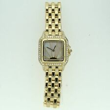 Quartz (Battery) Solid Gold Strap Analog Square Wristwatches