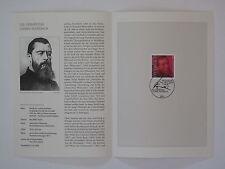 (04j26) Bund Erinnerungsblatt 2004 mit ESST Mi.Nr. 2411 Ludwig Feuerbach