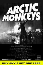 ARCTIC MONKEYS 2014 Australian  Laminated Tour  Poster