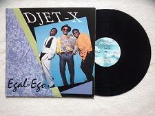 """LP DJET-X """"Egal-ego"""" MINI RECORDS MRS1211 USA §"""