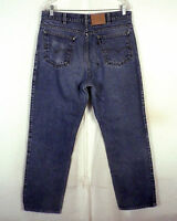 vtg 80s Levis Two Horse Brand USA made Denim Jeans Leather Tab sz 34 X 30