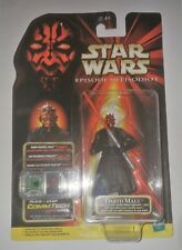 Star Wars Darth Maul with Double Sided Lightsaber Episode 1 NIP Hasbro