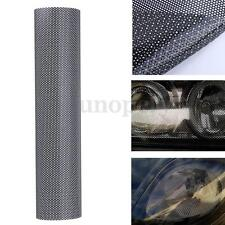 106 x 28 CM Tinting Perforated Mesh Film Fly-Eye Legal Tint Headlight Rear Light