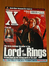 XPOSE #62 BRITISH MAGAZINE VISUAL IMAGINATION DECEMBER 2001 FROM HELL LOTR