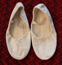 Ballett Move Schuhe  Ballettschuhe Tanzschuhe Gr. 4 Mädchen Leder weiß