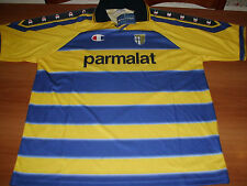 MAGLIA CALCIO SHIRT JERSEY PARMA CHAMPION PARMALAT 1999 2000 XL TRIKOT SERIE A