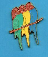 Pin's lapel pin pins Oiseau Bird Psittacidae du PEROU PERROQUET PARROT 3 AMAZONE