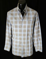 Canali Shirt L 16-34 Current Brown Label