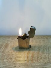 Vintage Thorens Swiss Made Chrome Automatic Petrol Lighter 1920s