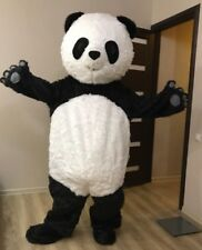 New Baby Panda Bear Mascot Costume Fancy Dress Adult Size