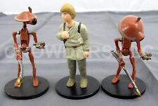 """Star Wars Episode 1 Young Anakin Skywalker & Pit Droids x2 3"""" PVC Figurines '99"""