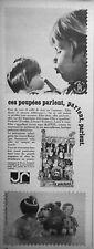 PUBLICITÉ 1966 JR JOUETS RATIONNELS CES POUPÉES PARLENT PARLENT - ADVERTISING