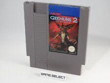 GREMLINS 2 THE NEW BATCH NINTENDO NES 8 BIT PAL A ITA CARTUCCIA ORIGINALE