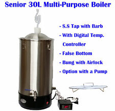 Senior 30L Multi-Purpose Electrical Boiler Mash Tun Heater SS Fermenter