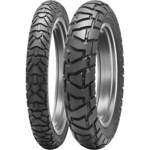 New Dunlop Trailmax Mission 90/90-21 & 130/90-18 Tire Set For Honda XR650L