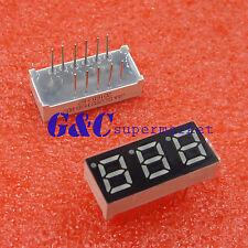 0.28 inch 3 digit led display 7 seg segment Common anode Blue