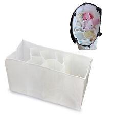 Aufbewahrungsbox Baby Pflegetasche Wickeltasche Organizer Tasche Weiß