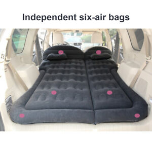 6x Car SUV Air Inflatable Mattress Bed Foldable Independent Camping Travel Rest