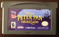 Gameboy Advanced DISNEY PETER PAN return to NEVERLAND *TESTED*