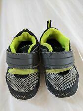 Garanimals Infant Boys Sneaker Shoes Green Gray Size 2 /& 3