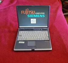 """Fujitsu Siemens lifebook portátil s-6120 13,3"""" 40gb con estación de acoplamiento + bolsa"""