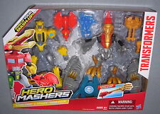 TRANSFORMERS HERO MASHERS BUMBLEBEE & STRAFE FIGURE BOX SET MIB