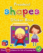 Nursery Pre School Early Learning Activity Book Shapes Children 2 3 4