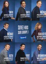 G- Publicité Advertising 2017 Suivez nous sur Radio Europe 1