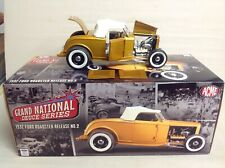 FORD 1932 GRAND NATIONAL DEUCE SERIES #2  A1805007 1/18 DIECAST  PAGAN GOLD