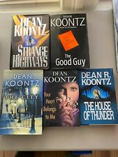 Dean Koontz Lot of 5 Hardcover Books Good Condition