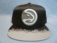 Mitchell & Ness Atlanta Hawks Reflective Lava BRAND NEW Snapback cap hat ATL NBA