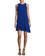 Elza J Chiffon Ruffled A Line Dress.SZ:14