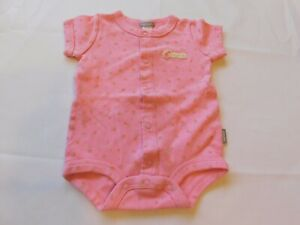 Casrter's Baby Girl's Short Sleeve One Piece Outfit Bodysuit Size S 3 Months GUC